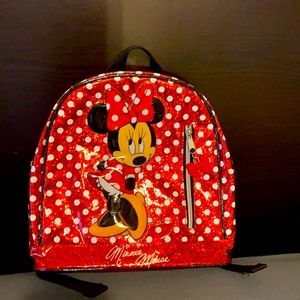 Disney Parks Minnie Mouse Backpack
